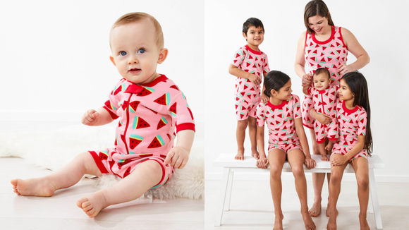 This onesie comes in sizes for the whole family.