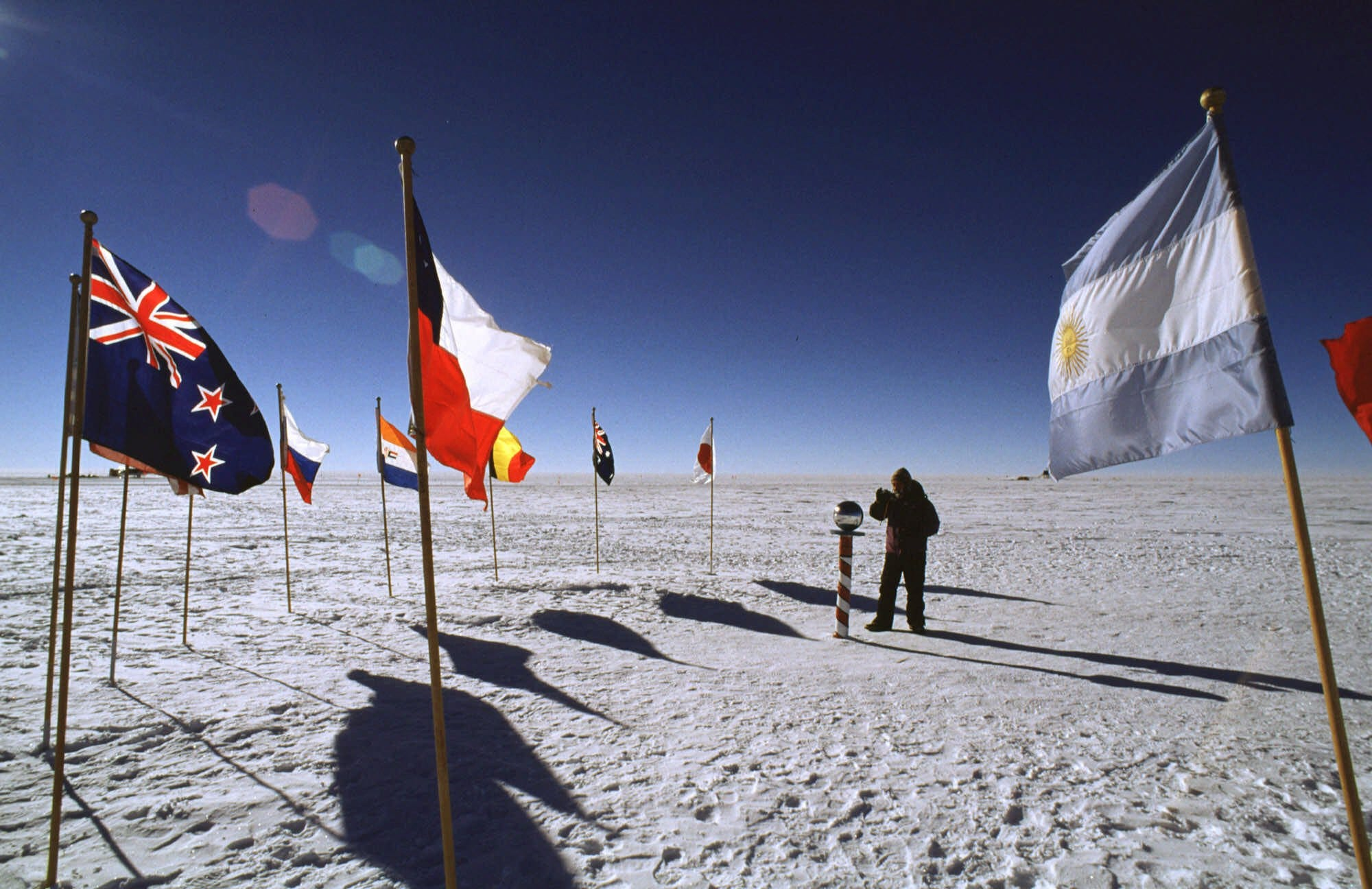 Researchers discover record warming at the South Pole over the past 3 decades