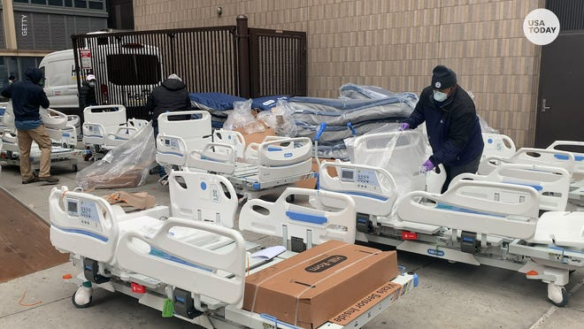 "Two Arizona doctors are warning that a ""massive surge"" in COVID-19 patients threatens to overwhelm hospitals in their state and many others."