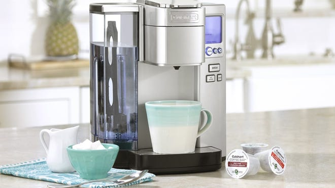 Harried, hectic mornings be gone with this easy-to-use single-serve brewer.