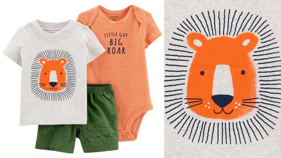 We love a stylish lion set.