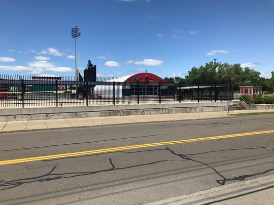 All's quiet at NYSEG Stadium.