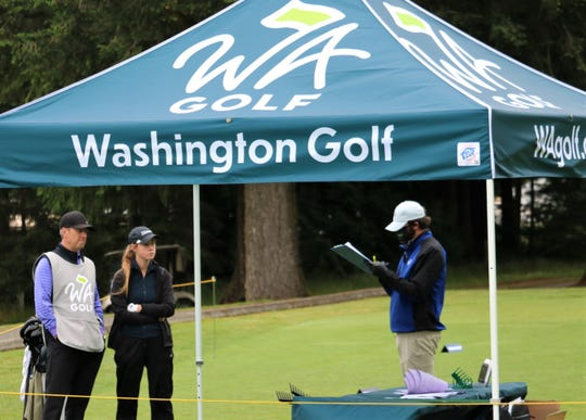 Gold Mountain Golf Club in Bremerton is hosting the Washington Women's Amateur, Mid-Amateur, Senior Women's and Super Senior Women's Championships this week.