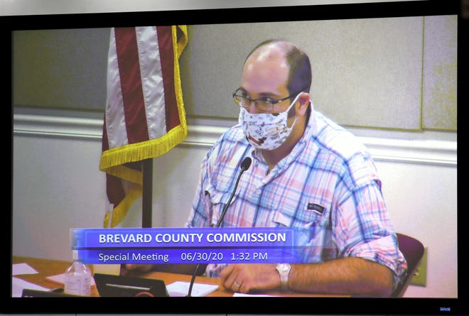 Brevard County Commission Chairman Bryan Lober says he will again bring up the topic of a mask policy for Brevard County at Tuesday's County Commission meeting.