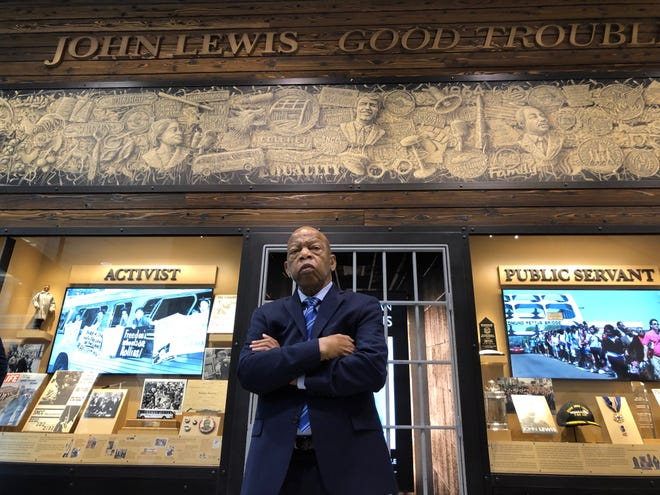 John Lewis in 'John Lewis: Good Trouble,' a Magnolia Pictures release.