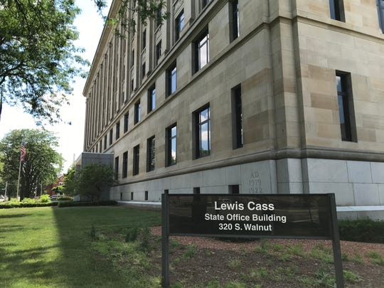 Michigan Gov. Gretchen Whitmer decided to rename the Lewis Cass State Office Building after the legislators who proposed the state's landmark civil rights law known as the Elliott-Larsen Civil Rights Act.