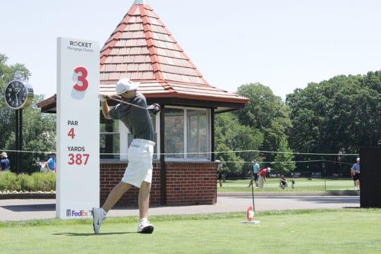 Donnie Trosper once won four AJGA golf tournaments in a single summer.