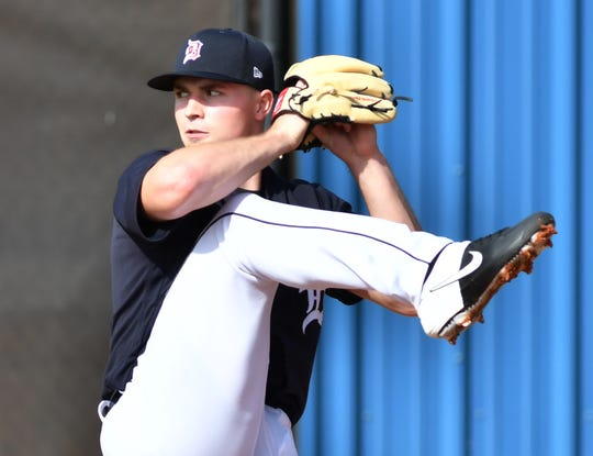 Tarik Skubal will be among the pitching prospects involved in the Tigers' summer camp, which opens this week.