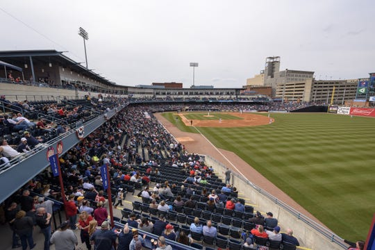 There will be no minor league games played at Fifth Third Field in Toledo this season.