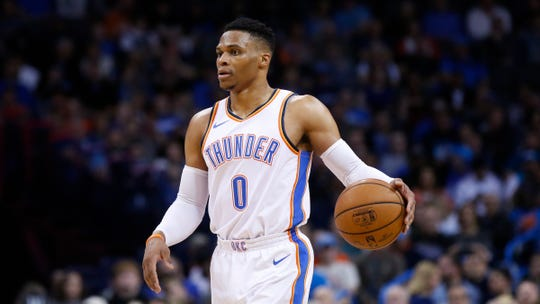 Russell Westbrook blossomed into a star during his 11 seasons with the Oklahoma City Thunder.