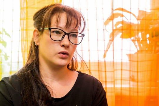 Nadezhda Zhuravlyova, 36, a local activist.