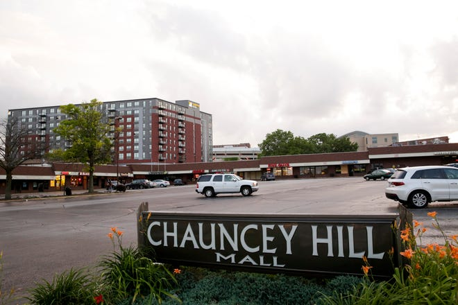 Chauncey Hill Mall, located at the corner of State Street and Chauncey Avenue, Monday, June 29, 2020, in West Lafayette.