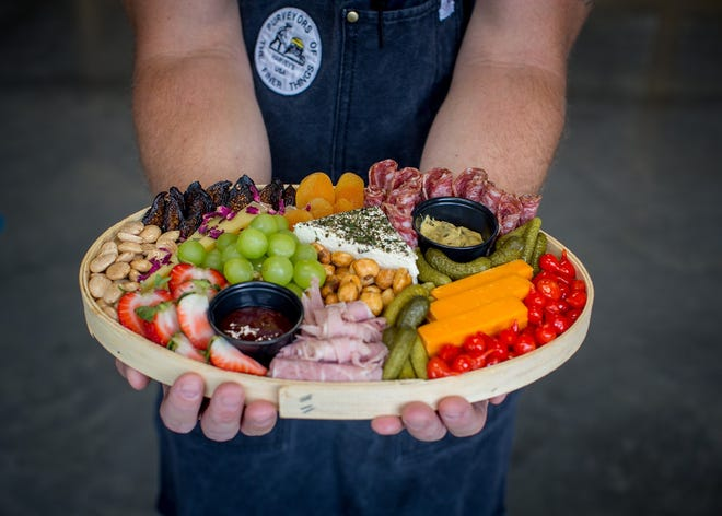 The Picnic Board from Harvey's Cheese.