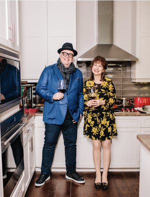 Tony and Cathy Mantuano met nearly 40 years ago, and they're still a great team.