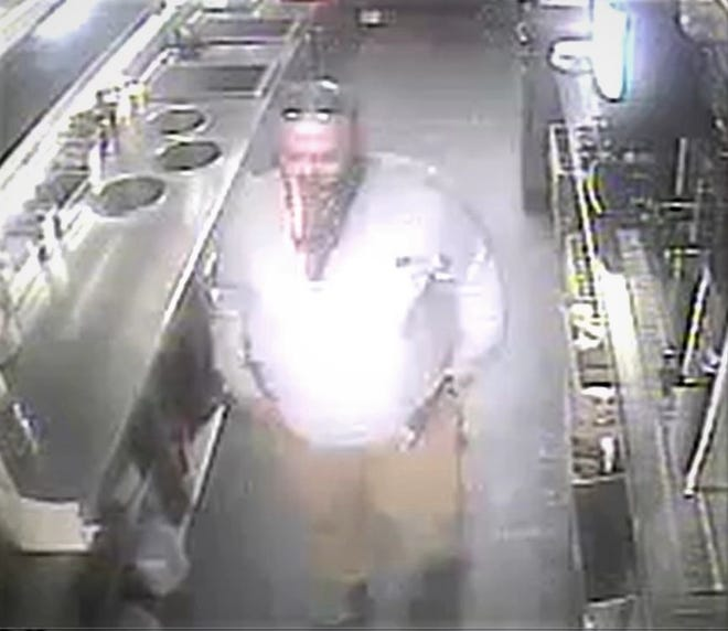 Police in Prattville are seeking this man in a burlgary of the city's IHOP.