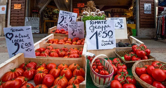 Fresh tomatoes are as important as the perfect mozzarella for caprese salad.