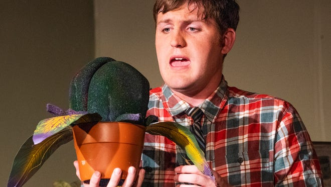 Feed Me Seymore Prattville S Way Off Broadway Theatre Letting Audrey Ii Loose On Stage