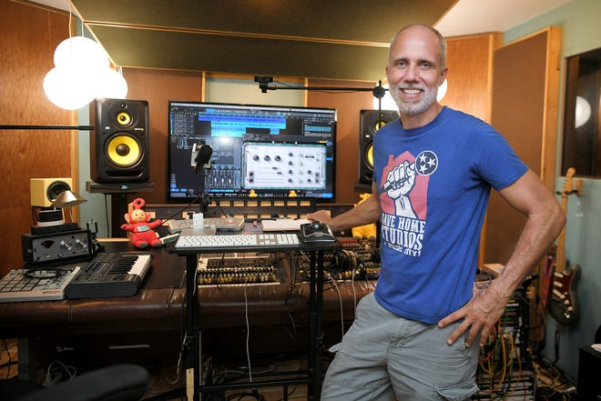 Lij Shaw has been fighting to legalize his home recording studio in East Nashvillle for years.  Shaw stands in his Nashville studio called Toy Box Studio on Monday, June 29, 2020.