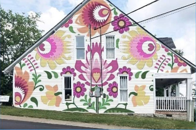 The Walls for Women mural would go in downtown Nolensville.
