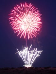 The City of Farmington's annual fireworks show will take place on the night of July 3 from Sullivan Hill.