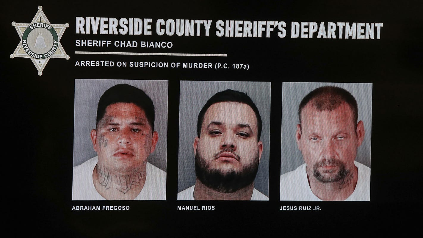 Defendants to enter pleas in alleged killings of Coachella Valley couple