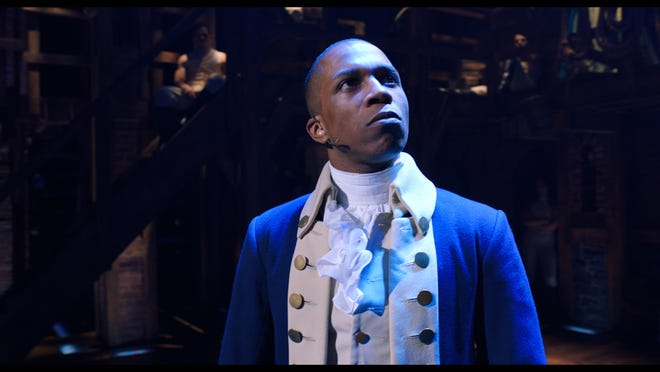 """A letter writer compares President Donald Trump to Aaron Burr, as played by actor Leslie Odom Jr. in the Broadway musical """"Hamilton""""."""
