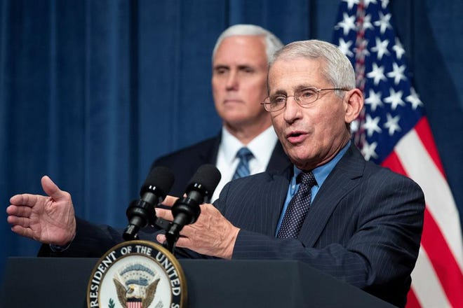 Mike Pence, Anthony Fauci