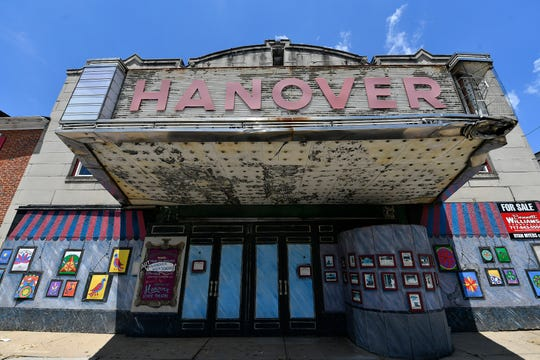 Three local businessmen are planning to renovate the former Hanover Theater, located on Frederick Street in Hanover, Tuesday, June 30, 2020.