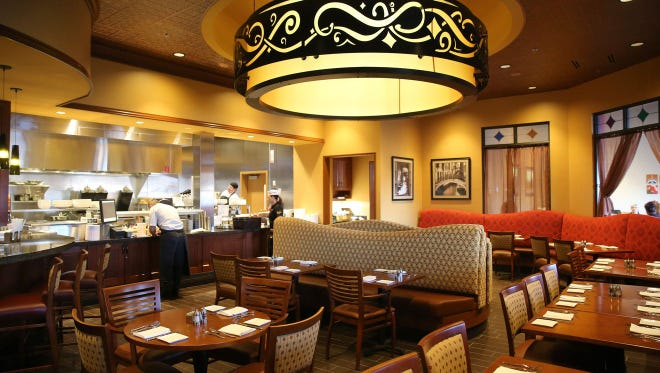 From March 2016: The dining area at the Pub by Wegmans at the Perinton Wegmans, 6600 Pittsford Palmyra Road.