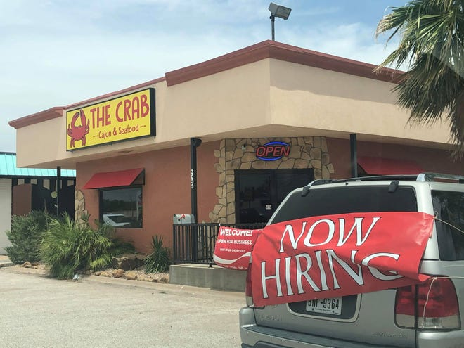The Crab Cajun & Seafood is open for business in the former 3 Parrots Taco Shop, 3035 Knickerbocker Road, as of June 30, 2020.