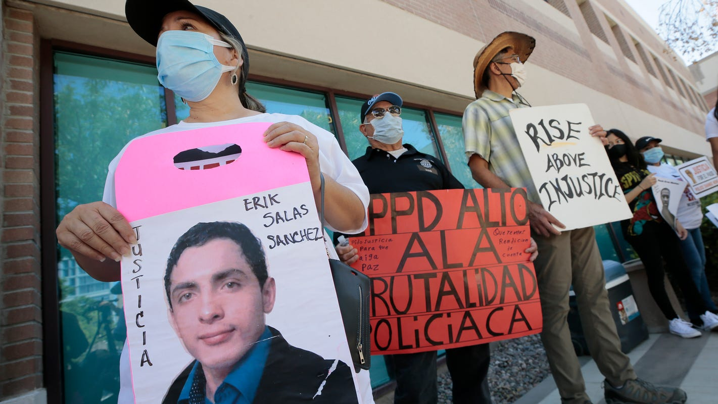 Community activists call for El Paso police chief's firing in wake of federal ruling