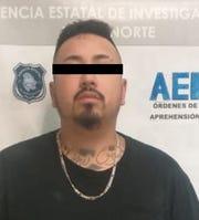 """Luis Ernesto Castro, alias """"El Alaska,"""" is accused of being a gun trafficker and crime boss in Juarez, Mexico."""