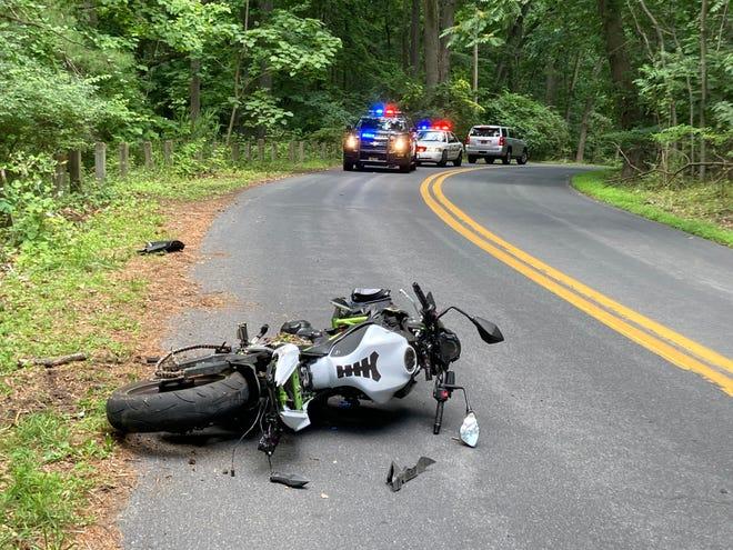 Alapocas Drive Shut Down Due To Serious Motorcycle Crash