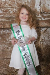 Adalyn Schwittay was named 2020's National Tiny Miss United States Agriculture on June 20.