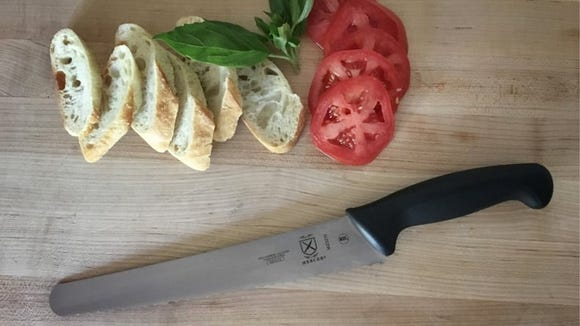 This bread knife almost outperformed our top serrated bread knife pick, but is $105 less.