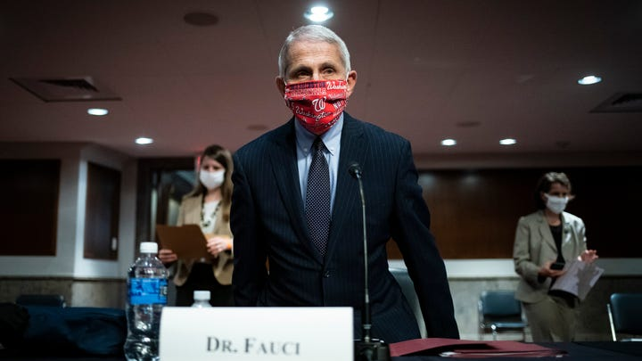Director of the National Institute of Allergy and Infectious Diseases Dr. Anthony Fauciarrives for a Senate Health, Education, Labor and Pensions Committee hearing on Capitol Hill in Washington, Tuesday, June 30, 2020.