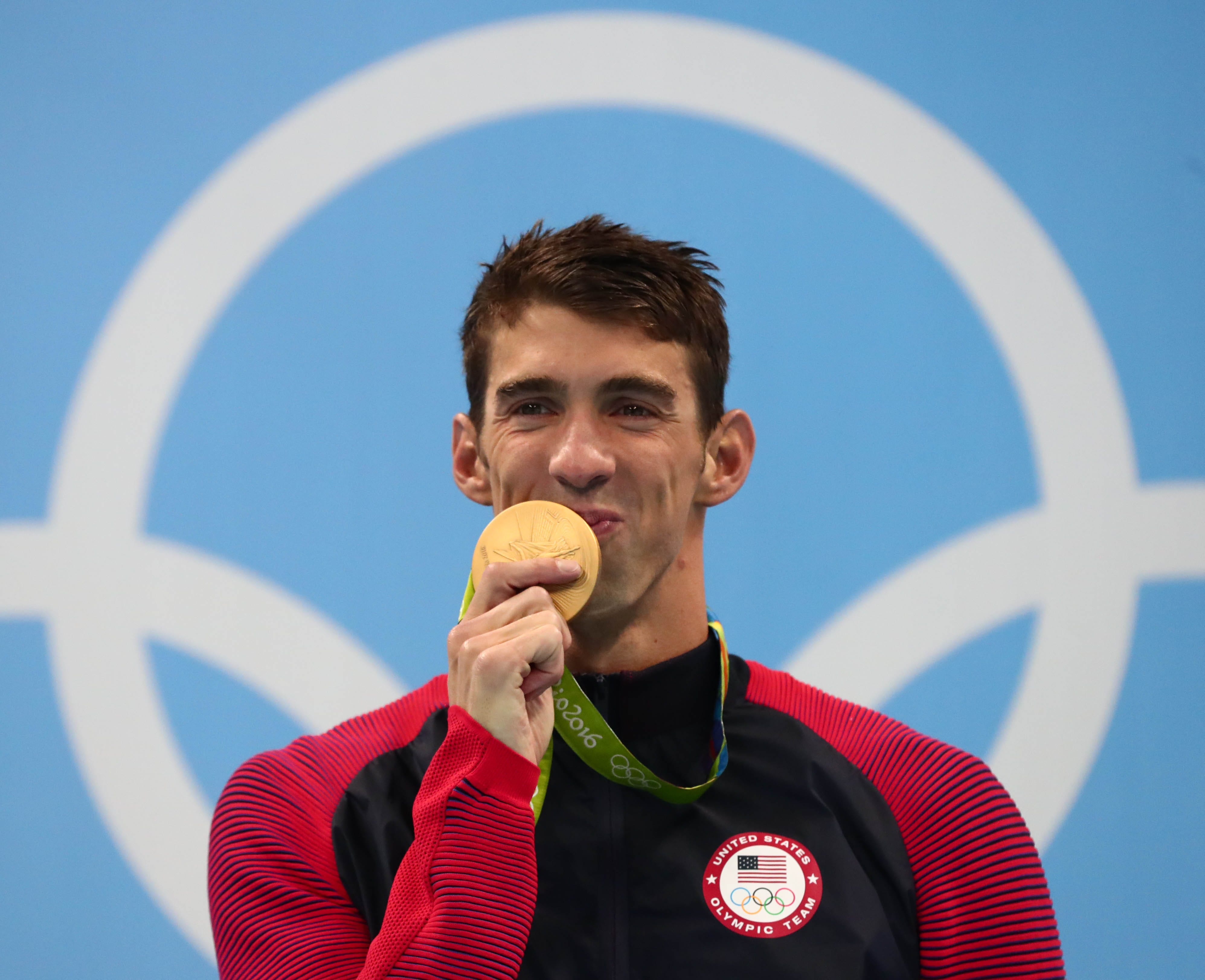 Michael Phelps rates the Olympics to be 'four or five' out of 10 when it comes to clean athletes