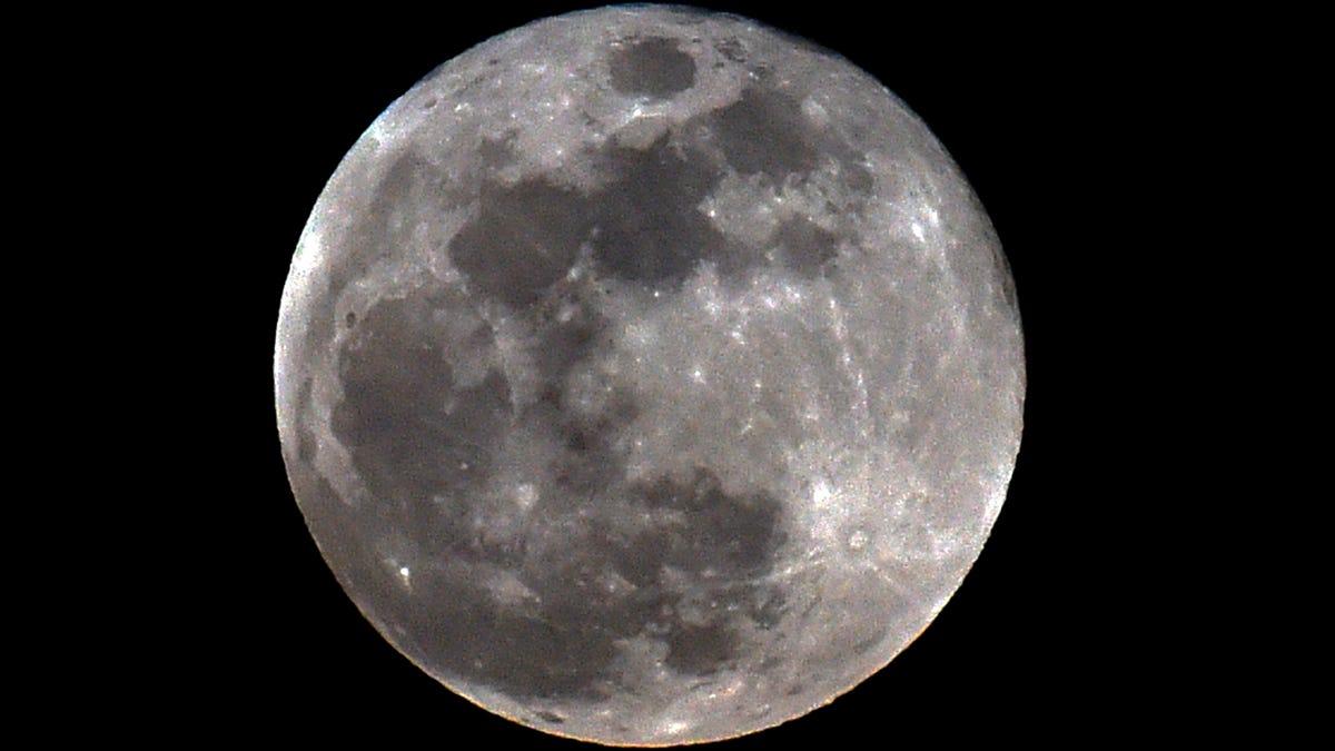 Halloween Full Blue Moon Is Also The Hunter S Moon