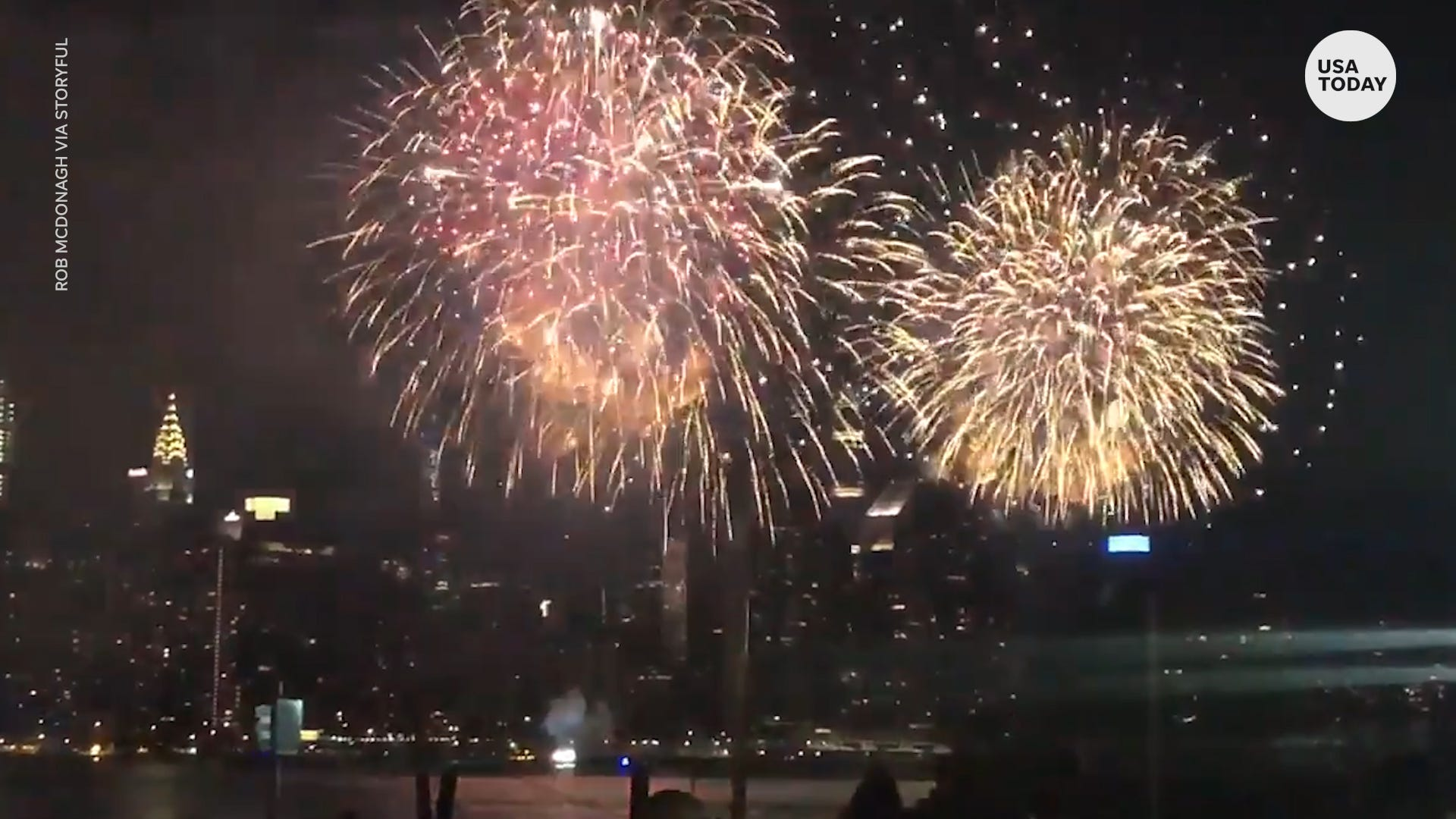 Fourth of July fireworks came early to New York thanks to Macy s secret displays