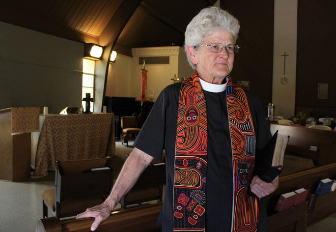 Mary Glover, often seen on Abilene theater stages, is rector of St. Mark's Episcopal Church. She is returning to the theater stage, though in a different way as she leads her congregation to its new home at Abilene Community Theatre.