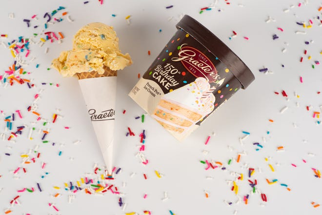 Graeter's Ice Cream is celebrating its 150th birthday with the creation of a special ice cream flavor and a limited edition birthday donut. Each of the specialty products will be released on July 1