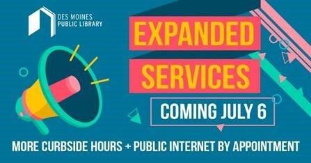 Des Moines Public Library expands services