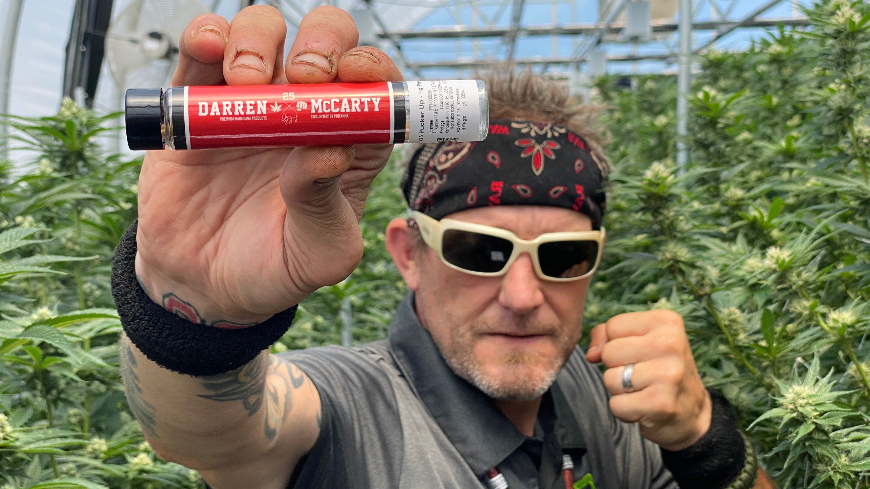 Darren McCarty knew how to beat any drug test. Now his marijuana brand is on the market