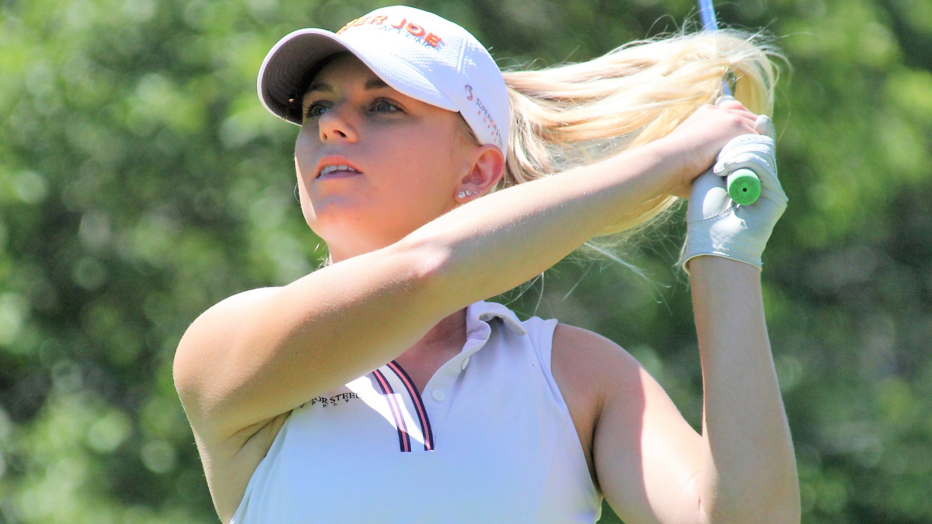 LPGA Tour's Sarah Burnham, ex-MSU star, shoots 63 to run away with Michigan PGA Women's Open