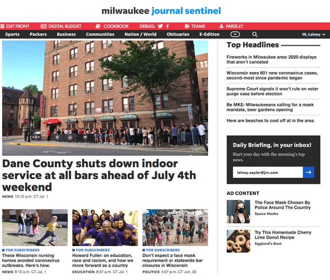 A Milwaukee Journal Sentinel subscription provides instant and unlimited digital access.
