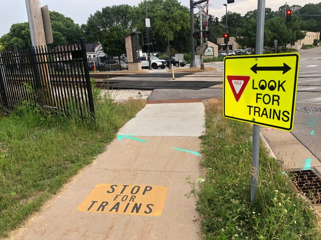 The train crossing at 70th and State streets in Wauwatosa is where a 13-year-old boy was recently hit. There is a renewed discussion about train safety in the city.
