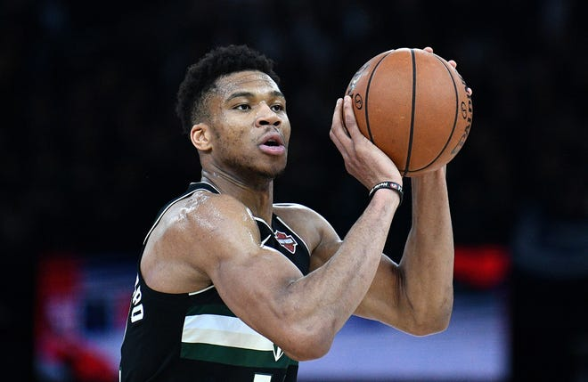 Giannis Antetokounmpo has no reservations about resuming the NBA season later this month.