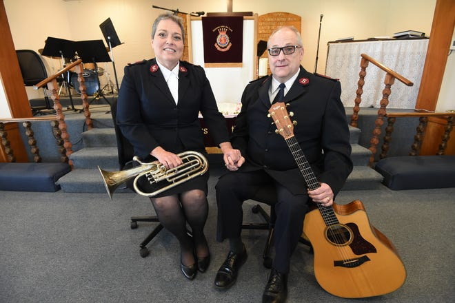 John and Michelle Robbins are the new leaders of the Salvation Army in Mountain Home. The couple hopes to bring their love of music to the people of the area.