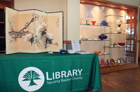 The Friends of the Baxter County Library Silent Auction continues through 1 p.m. July 29 in the Library's foyer.