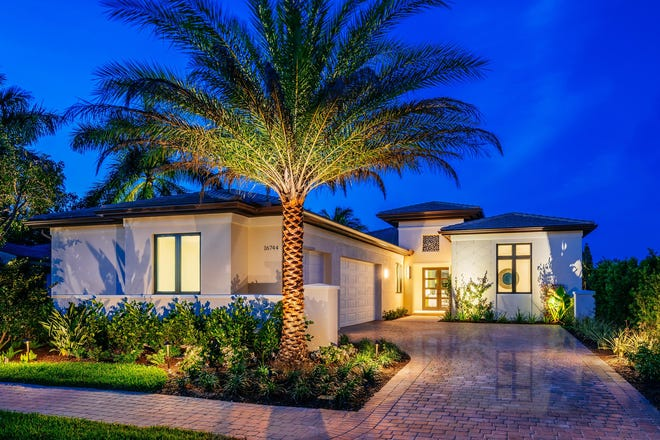 The Cameron is available at $1,880,000 including homesite, with a three-car garage.